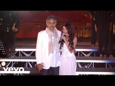 Andrea Bocelli, Sarah Brightman - Canto Della Terra (HD)