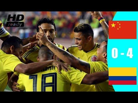 Download China vs Colombia 0 4   Highlights & Goals   14 November 2017