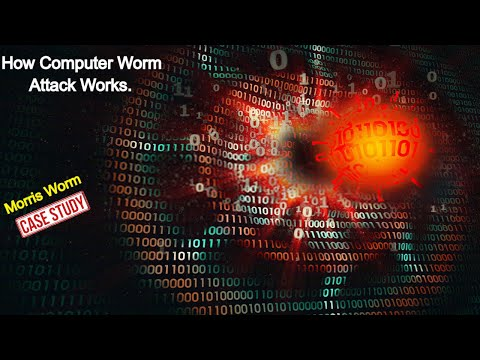 Cyber Security | Computer Worm Attack | Computer WORM TRICKERY | Worm Propagation Revealed