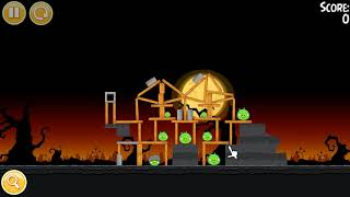 "🐦🐖 Angry Birds Seasons. Эпизод ""Trick or Treat"". Прохождение."
