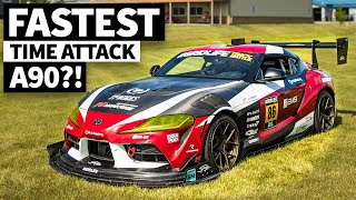 Is This America's Fastest A90 Time Attack Car? Jackie Ding's Carbon Clad Toyota Supra