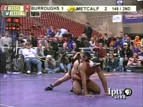 D1CW Video Vault XLVIII-2008 National Duals Brent Metcalf vs Jordan Burroughs