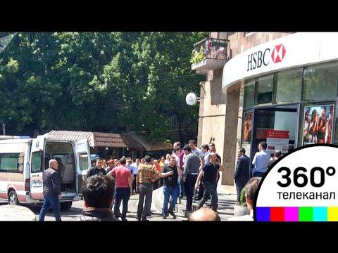 Стрельба в Ереване: двоих ранили в банке HSBC
