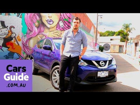2016 Nissan Qashqai ST Auto Review | Road Test Video