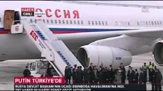 Президент России Владимир Путин в Анкаре 1 декабря 2014 mp4