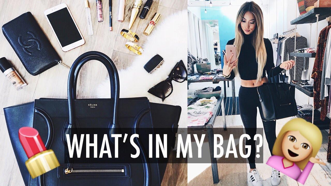 WHAT\u0026#39;S IN MY CELINE BAG? ? @ArikaSato by Arika Sato - 2016-04-01