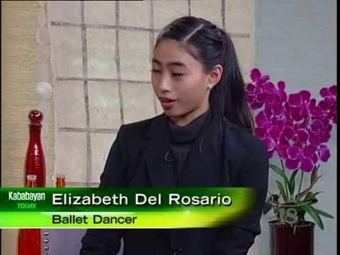 FilipinaAmerican Ballerina Elizabeth Del Rosario