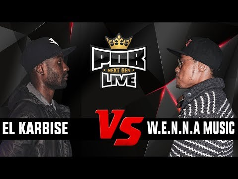 EL Karbise vs W.E.N.N.A. Music - Punchoutbattles Live