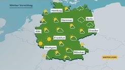 WELT WETTER: Sonntag startet sonnig - später vereinzelt Schauer