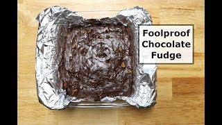 Foolproof Chocolate Fudge - Eagle Brand