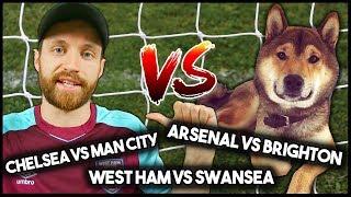 Man vs dog! predicting football results!