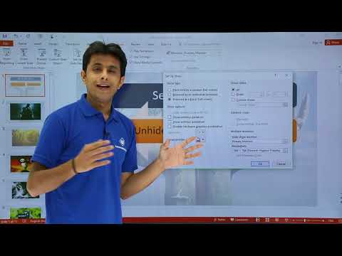 PowerPoint - Setup Slide Show