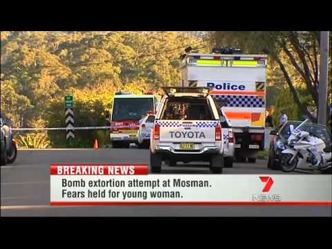 Yahoo7 News, Bomb around teenage girl's neck in Mosman reports