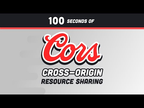 CORS in 100 Seconds