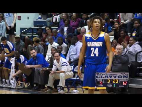 Garner vs Clayton Boys Varsity Basketball 2017