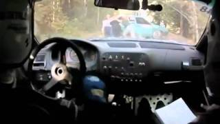 Russian rally crash