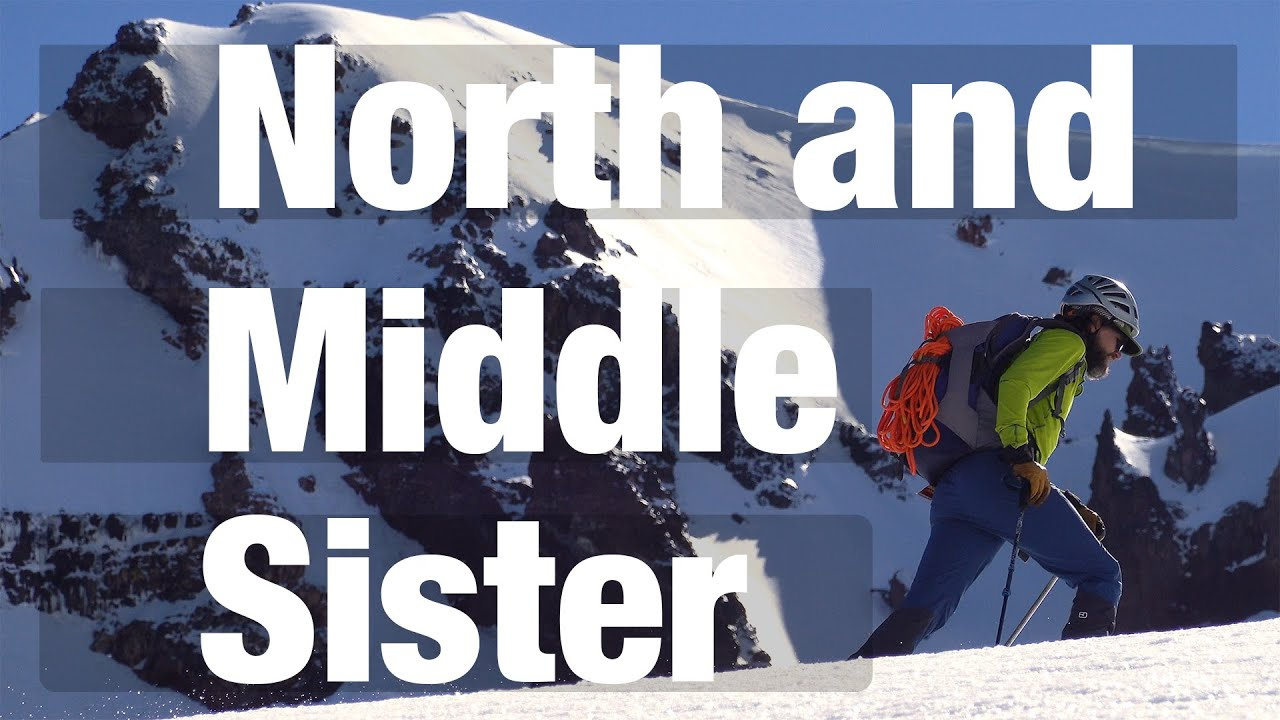 Three Sisters Wilderness // Skiing the North and Middle Sister