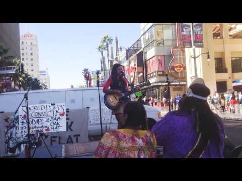 """Raye Zaragoza """"In The River"""" protest song Indigenous People"""