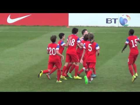U-15 BNT vs. England: Highlights - Aug. 19, 2015