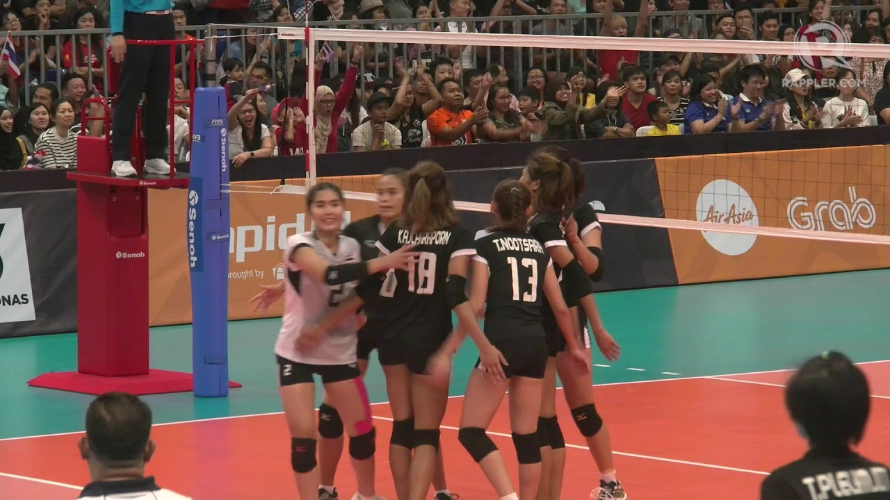 Sea Games 2017 Ph Vs Thailand Women S Volleyball Highlights Youtube