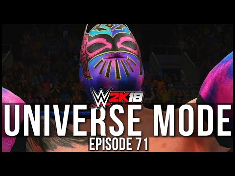WWE 2K18 | Universe Mode - 'REJECTED SQUASH MATCH!?' | #71