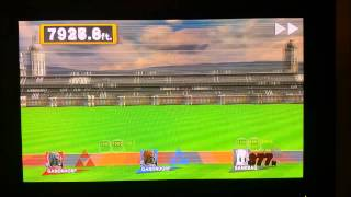 SSB Wii U Home Run Contest WORLD RECORD 31553.4 ft