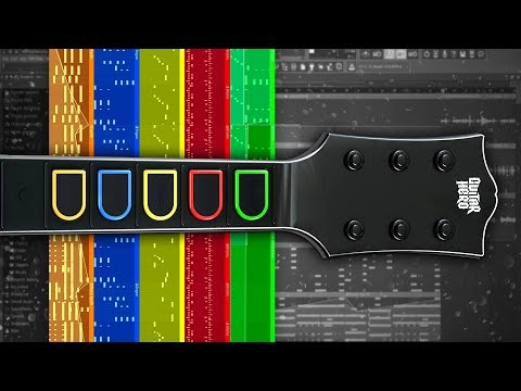 Using A GUITAR HERO Controller to Make A Beat