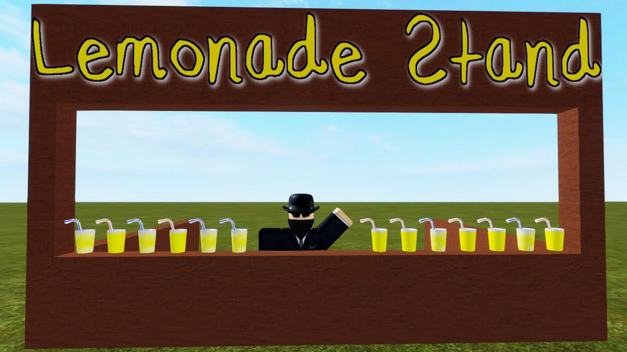 Lemonade Stand - A ROBLOX Machinima - YouTube