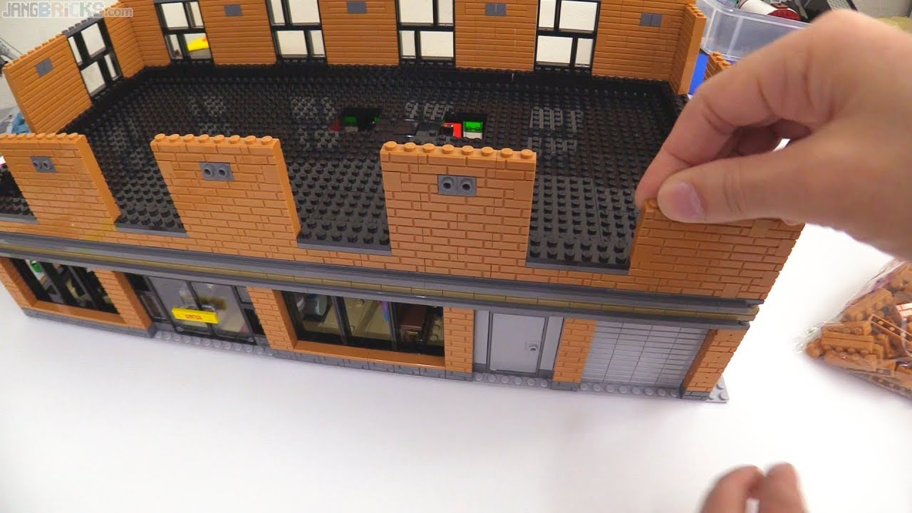 time lapse lego music shop laser tag moc progress 7. Black Bedroom Furniture Sets. Home Design Ideas