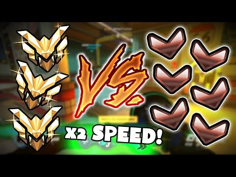 3 Master VS 6 Bronze With 2x SPEED! - Who Wins? [THEY'RE BREAKING ANKLES] - Overwatch VS
