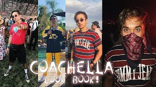 Coachella LOOKBOOK! Outfits for MEN! (LIZA KOSHY IS IN THIS VLOG)