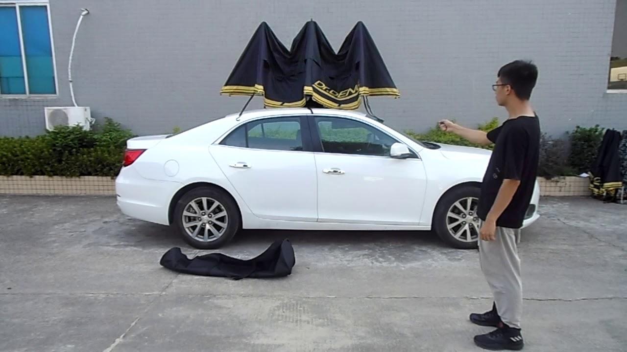 Semi-auto Folding Car /SUV Umbrella, Sunshade, Portable ...