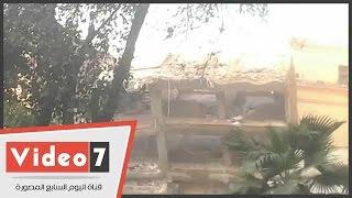 بالفيديو.. لحظة إنهيار مبنى نقابة المحامين بشارع عبد الخالق ثروت