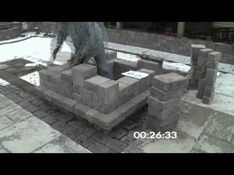 Outdoor Patio Bar Corner Section (Time Lapse)