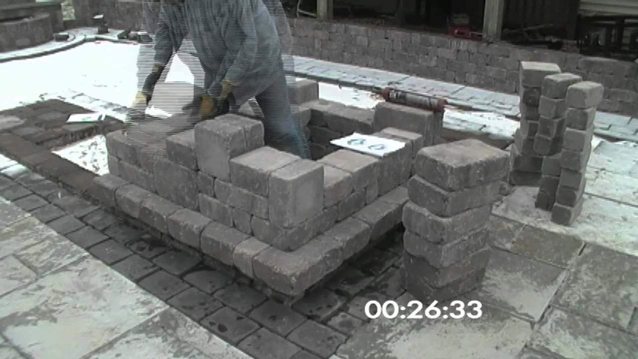 Outdoor Patio Bar Corner Section Time Lapse Youtube