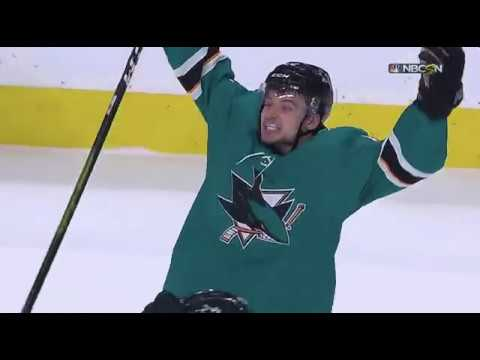 San Jose Sharks Score Four Goals On Five Minute Power Play To Comeback From 3-0 Deficit In Game 7
