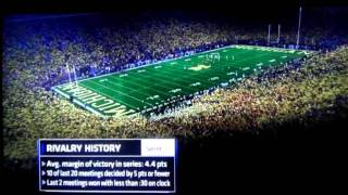 Michigan stadium finally creating some atmosphere..