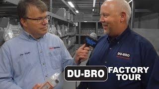 DU-BRO Products Factory Tour - Model Aviation