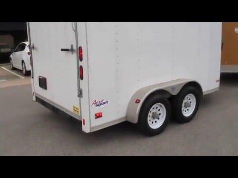 Aero Sport V nose utility trailer, for sale in Texas