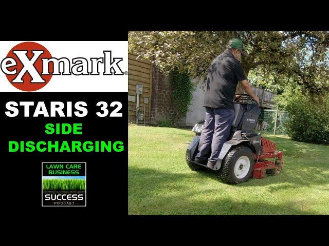 Exmark Staris 32 Side Discharging Grass