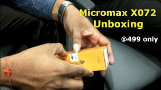 micromax x072 unboxing amp First look hands on 2017