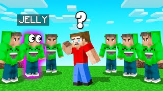Only ONE Is The REAL JELLY! (Minecraft Guess Who)