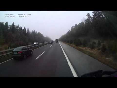 Slovenia. Motorway A2, 71-3 km. 2015-12, 1x