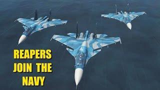 Reapers Sea Flanker CAS/CAP Mission   Su-33   DCS