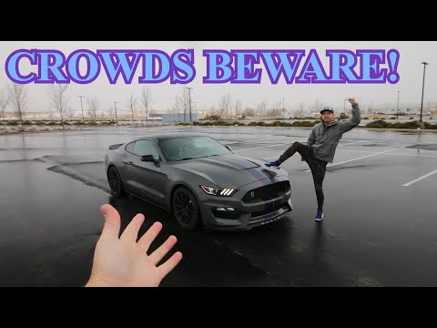 The Stradman Burns Tires in my Shelby GT350