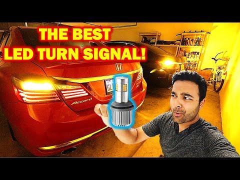 PERFECT NO RESISTOR LED Turn Signals! (FINALLY) PLUG & PLAY!!