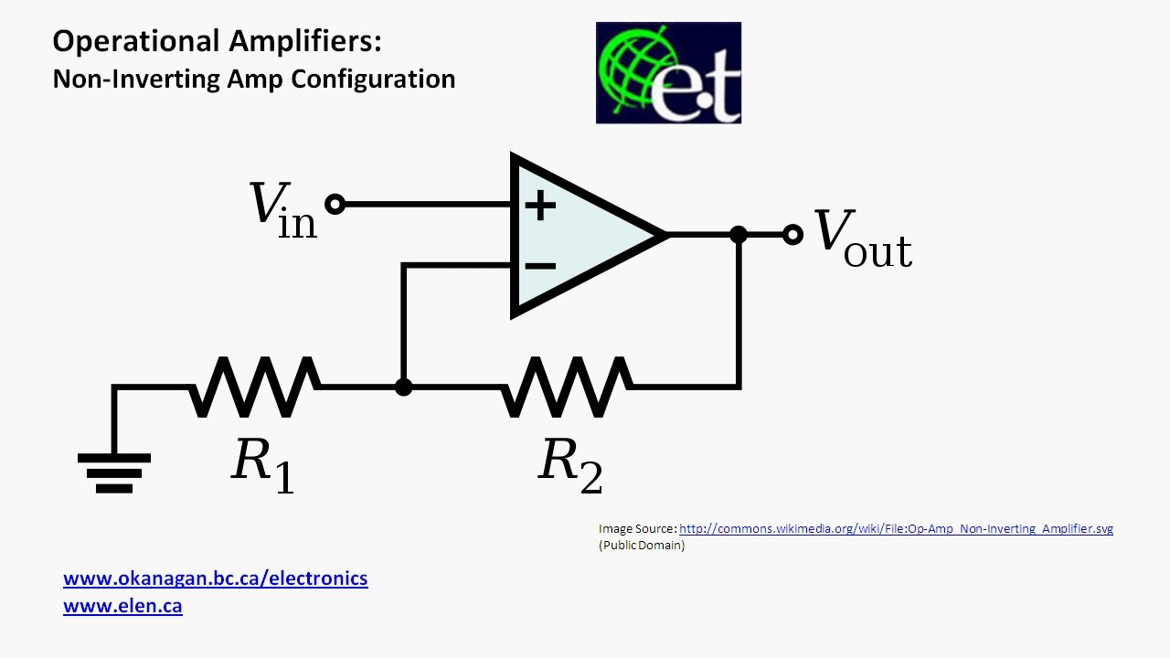 Operational Amplifiers - Non-Inverting Configuration