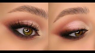 Вечерний макияж с палеткой BH Cosmetics Glam Reflection Rose