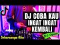 DJ COBA KAU INGAT INGAT KEMBALI TIK TOK VIRAL 2021 | DJ SEHARUSNYA AKU REMIX MAULANA WIJAYA