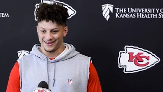 Andy Reid, Chiefs teammates comment on Patrick Mahomes' offseason leadership